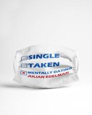 Mentally Dating Julian Edelman Cloth face mask aos-face-mask-lifestyle-22