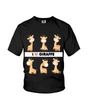 I LOVE GIRAFFE AMAZING GIFT Youth T-Shirt tile