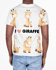 I LOVE GIRAFFE AMAZING GIFT All-over T-Shirt aos-all-over-T-shirt-lifestyle-back-02