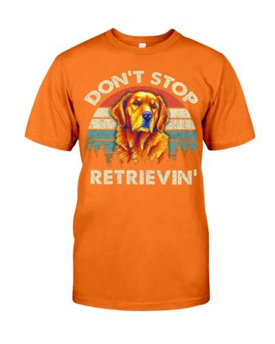 Don't Stop Retrieving Golden Retriever 4th Of July