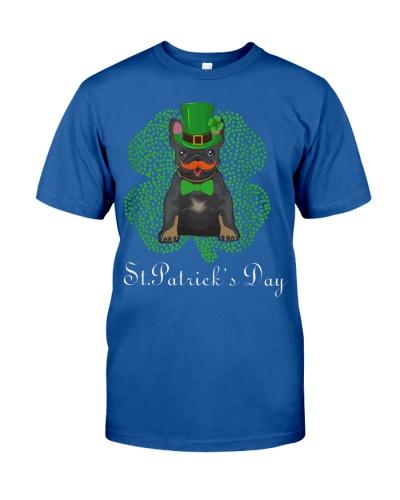 Frenchie Bulldog St Patrick's Day shirt