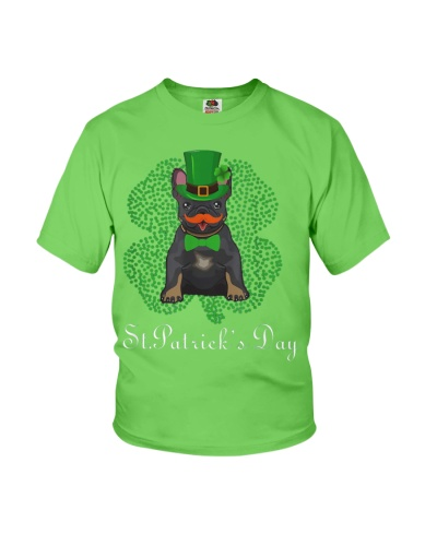 Frenchie Bulldog St Patrick's Day shirt