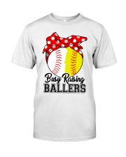 Busy Raising Ballers  Classic T-Shirt front