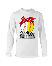 Busy Raising Ballers  Long Sleeve Tee thumbnail