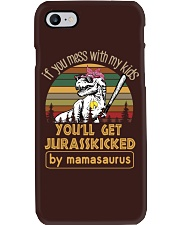 Softball Mamasaurus Phone Case thumbnail