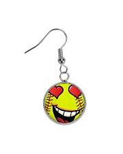 I love softball jewellery earrings and bracelet Circle Earrings thumbnail