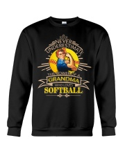 Power of a grandma who loves softball Crewneck Sweatshirt thumbnail