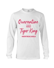 Quarantine and Tiger King Long Sleeve Tee tile
