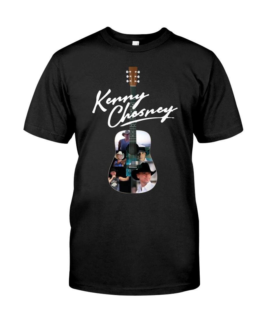 Kenny Chesney Guitar Shirt Classic T-Shirt