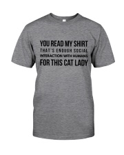 enough interaction Classic T-Shirt thumbnail