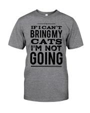 IF I CAN'T BRING CATS Classic T-Shirt thumbnail