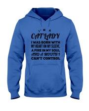 I'm a cat lady Hooded Sweatshirt thumbnail