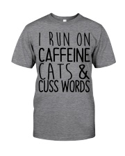 i run on cats Classic T-Shirt thumbnail