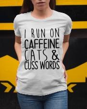 i run on cats Ladies T-Shirt apparel-ladies-t-shirt-lifestyle-04