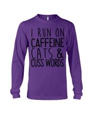 i run on cats Long Sleeve Tee thumbnail