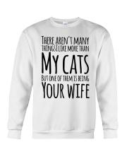 CAT WIFE Crewneck Sweatshirt thumbnail