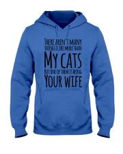 CAT WIFE Hooded Sweatshirt thumbnail