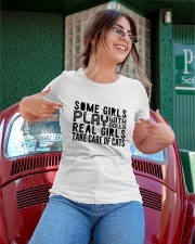 real girls take care of cats Ladies T-Shirt apparel-ladies-t-shirt-lifestyle-01