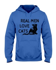 REAL MEN LOVE CATS Hooded Sweatshirt thumbnail