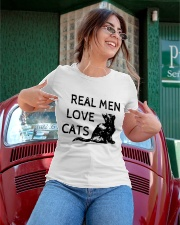 REAL MEN LOVE CATS Ladies T-Shirt apparel-ladies-t-shirt-lifestyle-01