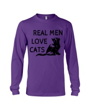 REAL MEN LOVE CATS Long Sleeve Tee tile