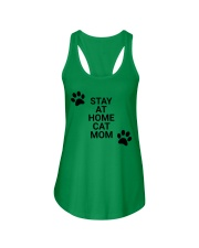 stay at home mom Ladies Flowy Tank thumbnail
