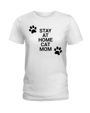 stay at home mom Ladies T-Shirt front