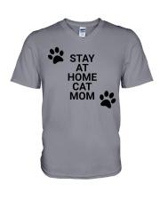 stay at home mom V-Neck T-Shirt thumbnail