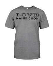 love maine coon Classic T-Shirt thumbnail