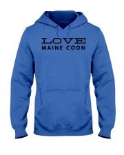 love maine coon Hooded Sweatshirt thumbnail