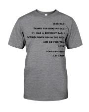 cat lady dad Classic T-Shirt thumbnail