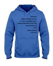 cat lady dad Hooded Sweatshirt thumbnail