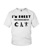 sorry cat Youth T-Shirt thumbnail
