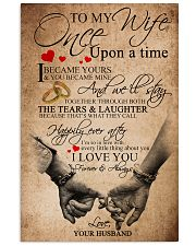 TO MY WIFE B01 11x17 Poster front