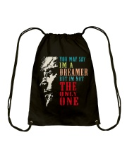 You may say Im A Dreamer But Im not the only one Drawstring Bag thumbnail