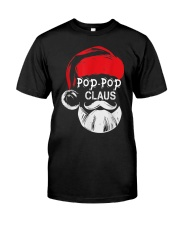 Pop-Pop Claus - Christmas Grandpa Gift T-Shirt  Premium Fit Mens Tee thumbnail
