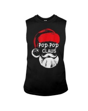 Pop-Pop Claus - Christmas Grandpa Gift T-Shirt  Sleeveless Tee thumbnail