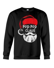 Pop-Pop Claus - Christmas Grandpa Gift T-Shirt  Crewneck Sweatshirt thumbnail