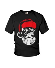 Pop-Pop Claus - Christmas Grandpa Gift T-Shirt  Youth T-Shirt thumbnail