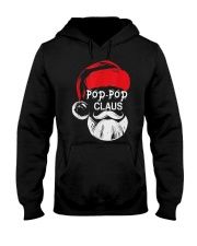 Pop-Pop Claus - Christmas Grandpa Gift T-Shirt  Hooded Sweatshirt front