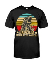 Dadzilla Father Of The Monsters Retro Vintage Classic T-Shirt tile