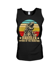 Dadzilla Father Of The Monsters Retro Vintage Unisex Tank tile