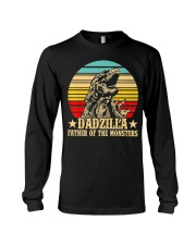 Dadzilla Father Of The Monsters Retro Vintage Long Sleeve Tee tile