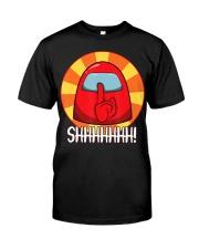 Cool Among Us shirt Crewmate or Impostor SHHHHHHH Classic T-Shirt thumbnail