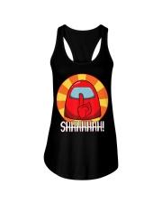 Cool Among Us shirt Crewmate or Impostor SHHHHHHH Ladies Flowy Tank thumbnail