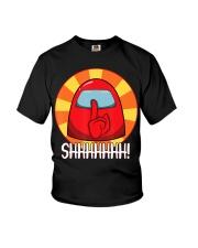 Cool Among Us shirt Crewmate or Impostor SHHHHHHH Youth T-Shirt thumbnail