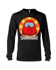 Cool Among Us shirt Crewmate or Impostor SHHHHHHH Long Sleeve Tee thumbnail