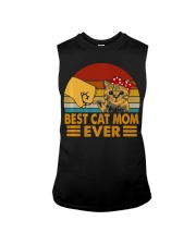 Best Cat Mom Ever Vintage Shirt Best Cat Mom Ever Sleeveless Tee thumbnail