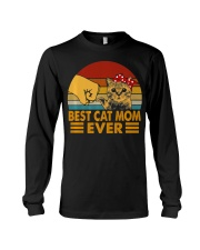 Best Cat Mom Ever Vintage Shirt Best Cat Mom Ever Long Sleeve Tee thumbnail