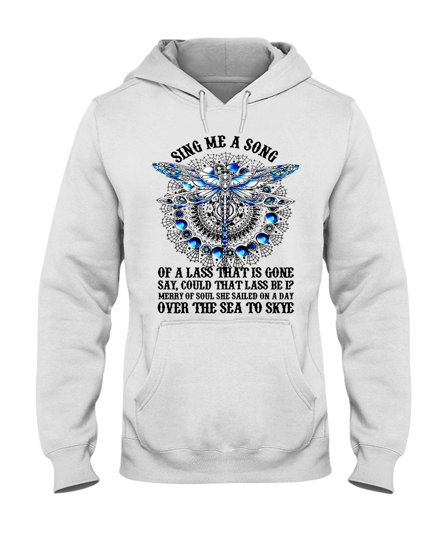 Womens Sing Me A Song Of A Lass That Is Gone Hooded Sweatshirt